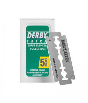 Сменные лезвия для Т-образного станка, Derby Extra, 5 лезвий в упаковке