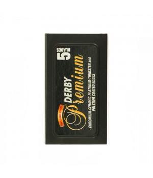 Сменные лезвия для Т-образного станка, Derby Premium, 5 лезвий в упаковке