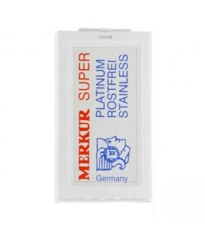 Сменные лезвия для Т-образного станка, Merkur, 10 лезвий в упаковке