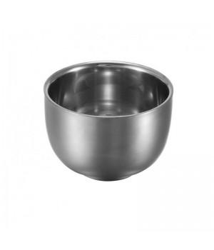 Металлическая чаша для бритья KURT, цвет стальной