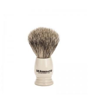Помазок D. R. Harris S1, барсучий ворс категории Best, размер S, смола, цвет слоновой кости