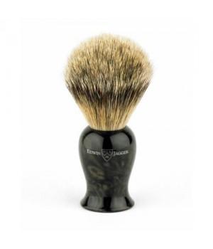 Помазок для бритья Edwin Jagger Plaza имитация черного мрамора (Барсучий ворс)