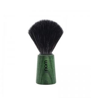 Помазок NOM, черная фибра, ясень, зеленый