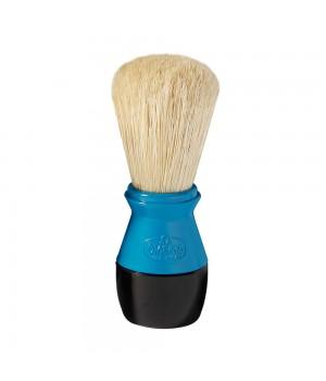 Голубой помазок Omega, щетина кабана, пластик