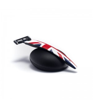 Подарочный набор Bolin Webb R1, бритва R1 Union Jack, подставка R1 черная