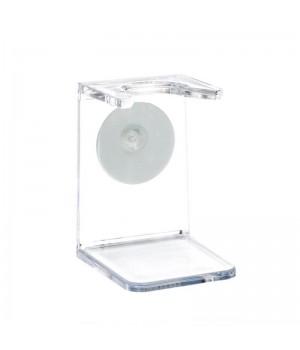 Подставка для помазка HJM, акрил, прозрачный