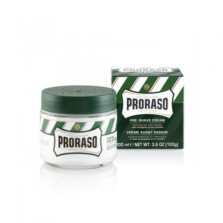 Крем до бритья Proraso Ментол и масло эвкалипта 100 мл