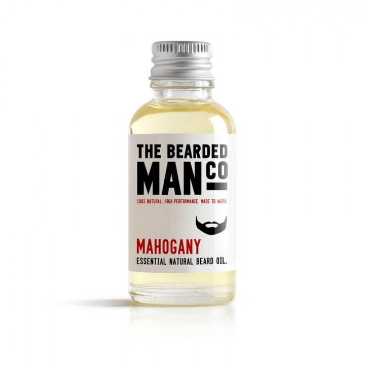 Масло для бороды The Bearded Man Company, Mahogany, 30 мл