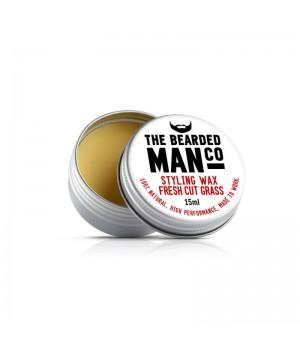 Воск для усов The Bearded Man Company, Fresh Cut Grass (Свежескошенная трава), 15 мл