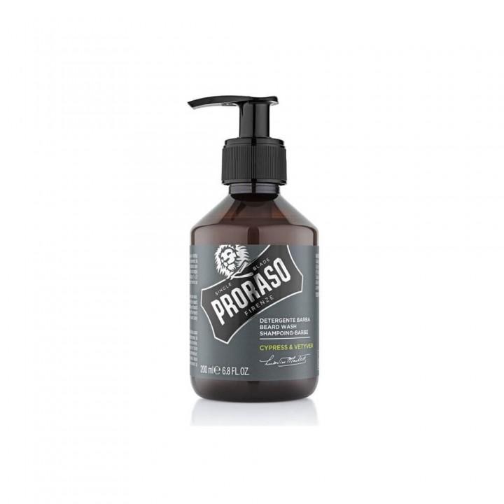 Шампунь для бороды Proraso Cypress & Vetyver 200 мл
