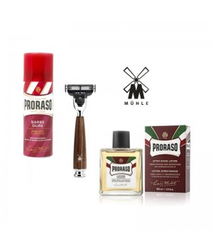 Набор для бритья Muehle&Proraso, аромат сандал