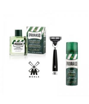 Набор для бритья Muehle&Proraso, аромат эвкалипт