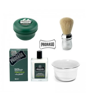 Набор для влажного бритья Proraso Cypress Vetyver
