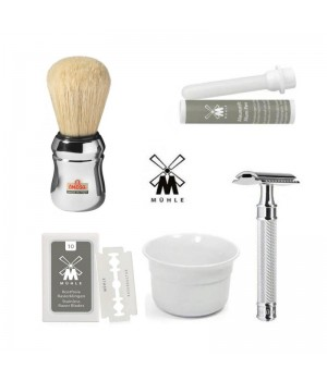 Набор для бритья на базе хита - Muehle R89 Grande