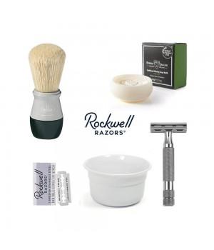 Набор для бритья Rockwell Серебристый