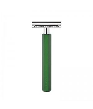 Т-образная бритва MUEHLE HEXAGON, зеленая (закрытый гребень)